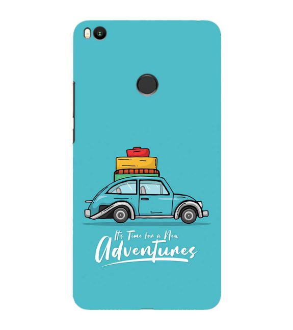 Time for Adventure Back Cover for Xiaomi Mi Max 2