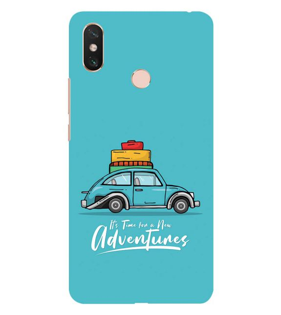 Time for Adventure Back Cover for Xiaomi Mi Max 3