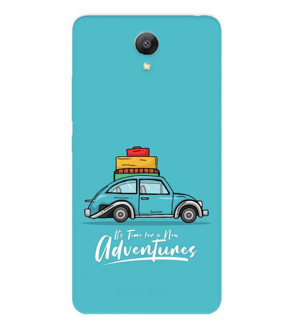 Time for Adventure Back Cover for Xiaomi Redmi Note 2