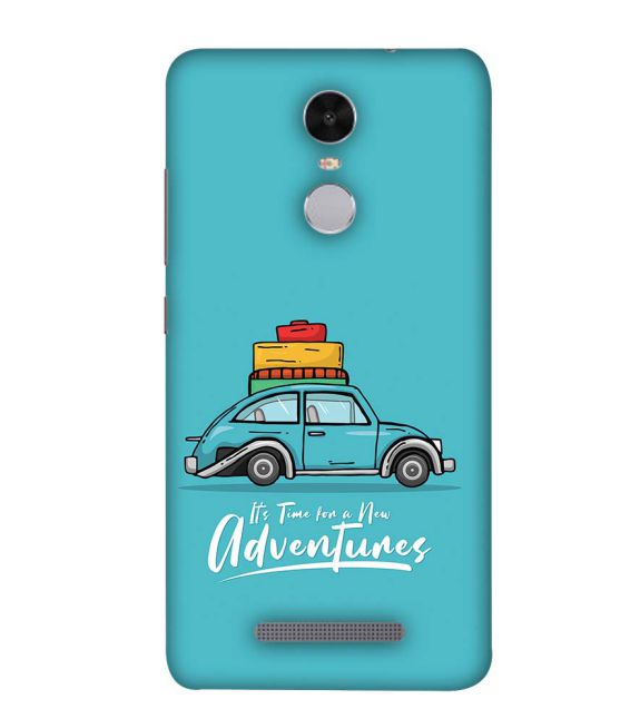 Time for Adventure Back Cover for Xiaomi Redmi Note 4