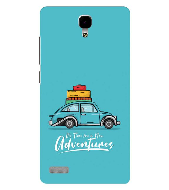 Time for Adventure Back Cover for Xiaomi Redmi Note 4G