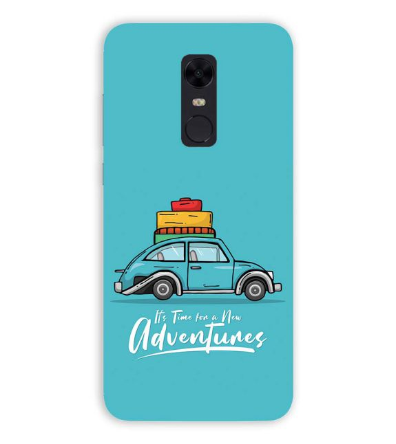 Time for Adventure Back Cover for Xiaomi Redmi Note 5