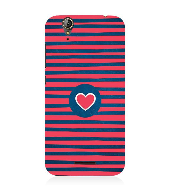 Trendy Heart Back Cover for Acer Liquid Zade 630