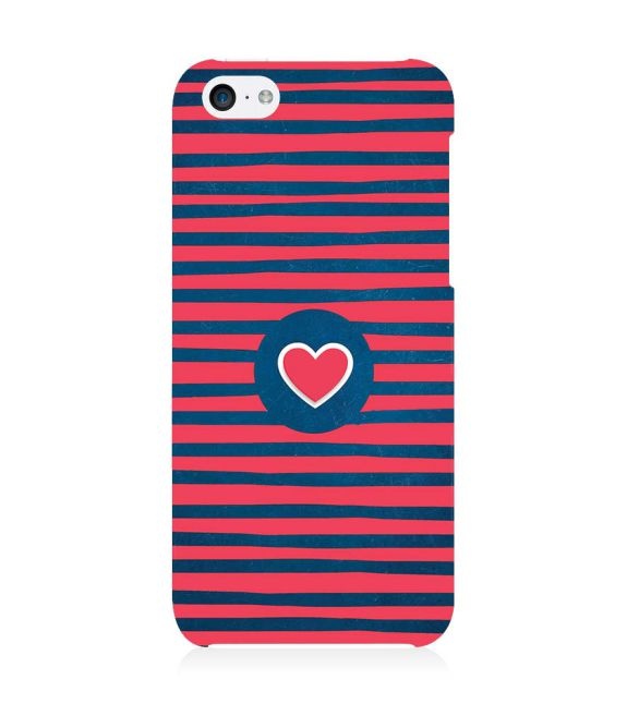 Trendy Heart Back Cover for Apple iPhone 5c