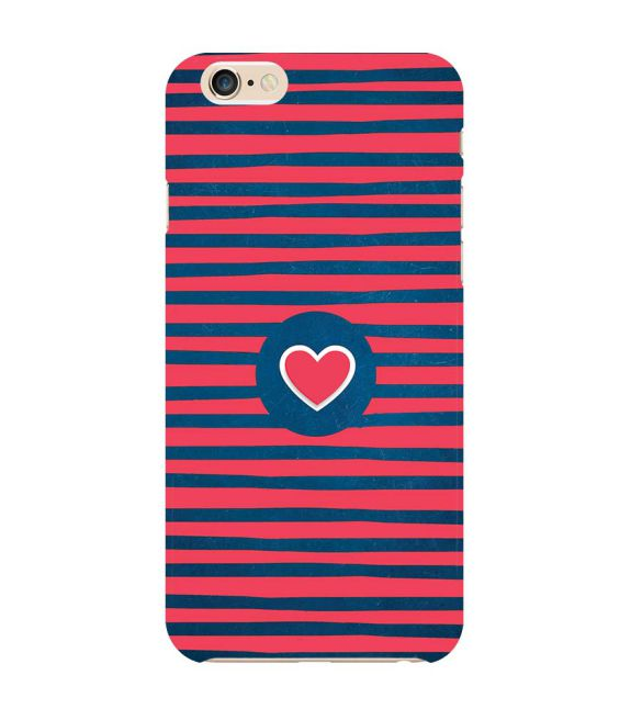 huge discount 46815 c8f83 Trendy Heart Back Cover for Apple iPhone 6 Plus and iPhone 6S Plus