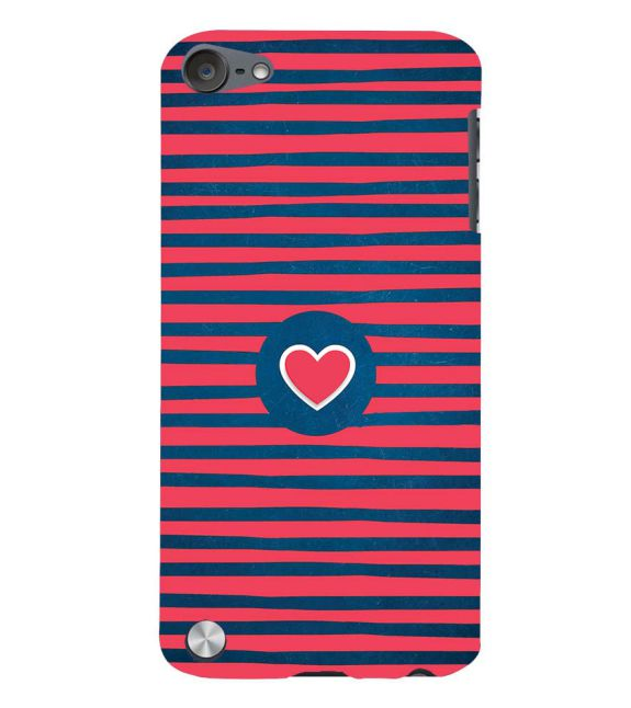 Trendy Heart Back Cover for Apple iPod Touch 5