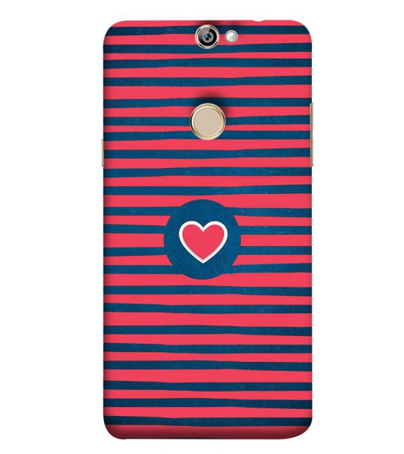 Trendy Heart Back Cover for Coolpad Max A8