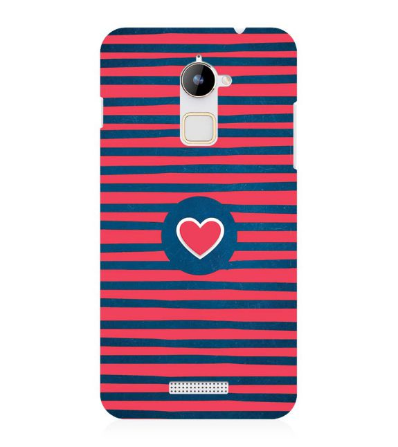 Trendy Heart Back Cover for Coolpad Note 3 Lite