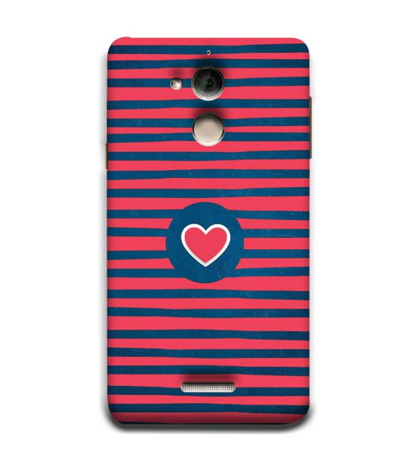 Trendy Heart Back Cover for Coolpad Note 5
