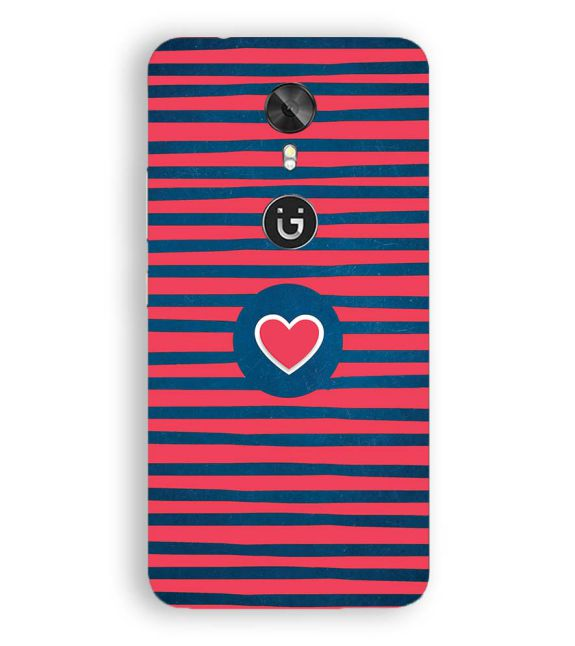 Trendy Heart Back Cover for Gionee A1