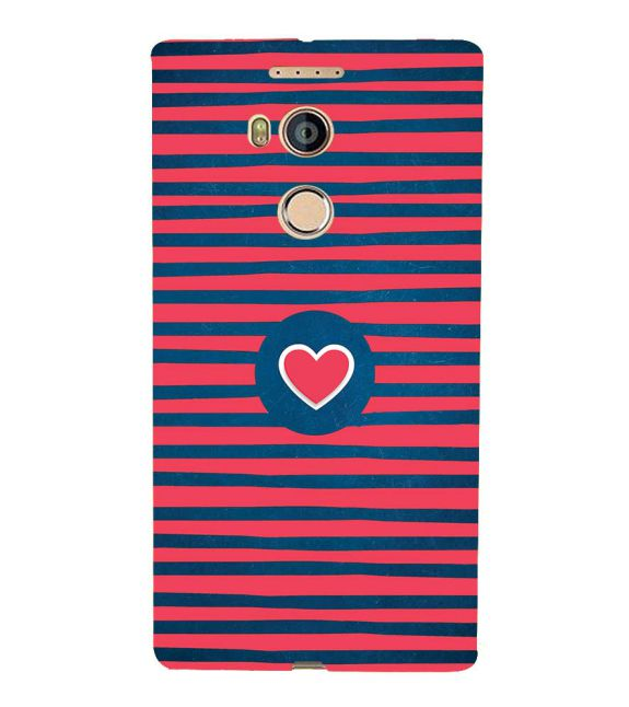 Trendy Heart Back Cover for Gionee Elife E8