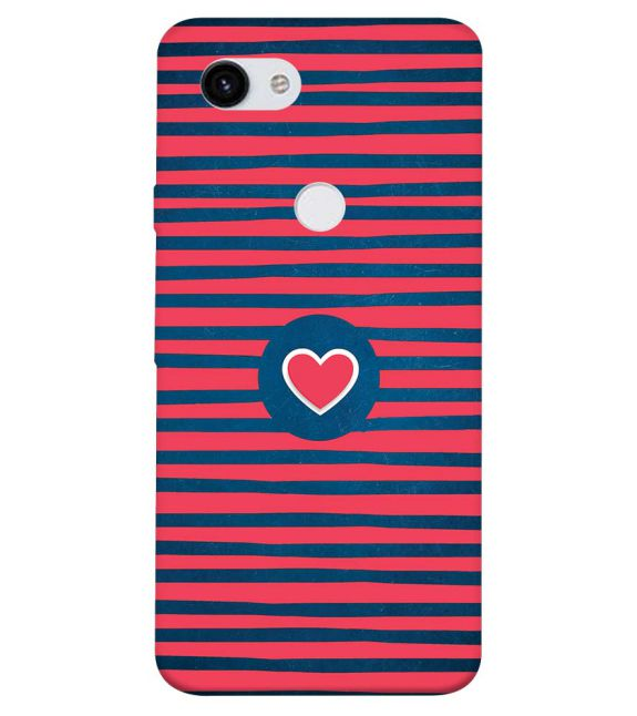 Trendy Heart Back Cover for Google Pixel 3a XL