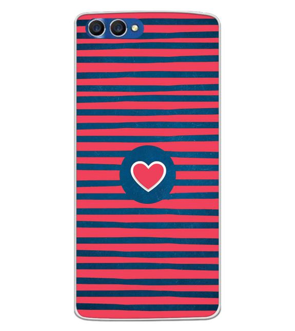 Trendy Heart Back Cover for Homtom H3