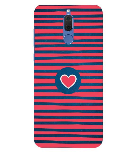 Trendy Heart Back Cover for Honor 10 Lite