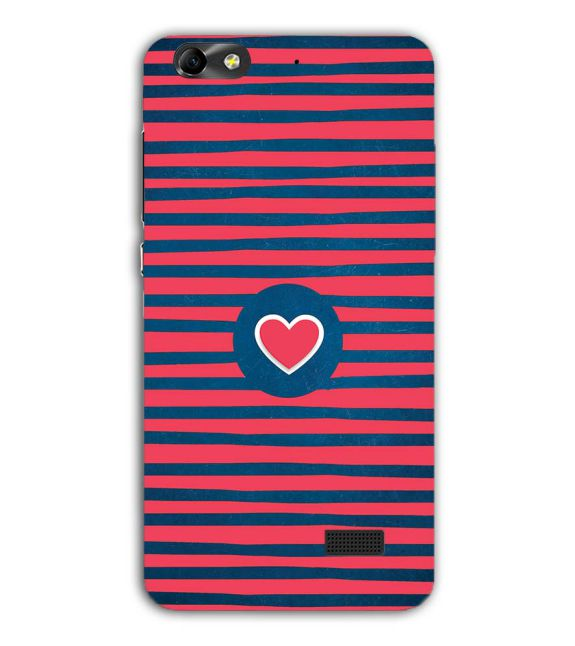 Trendy Heart Back Cover for Huawei Honor 4C