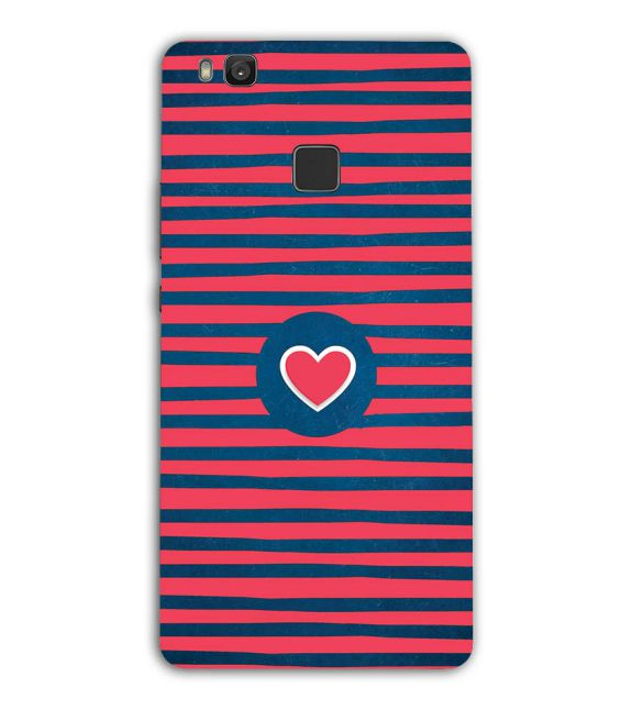 Trendy Heart Back Cover for Huawei Honor 8 Smart