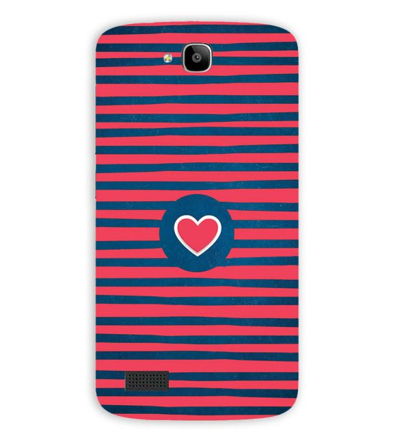 Trendy Heart Back Cover for Huawei Honor Holly
