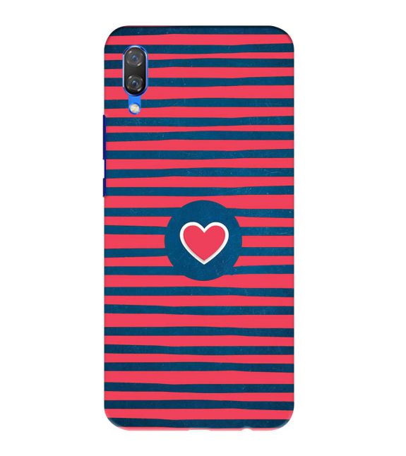 Trendy Heart Back Cover for Huawei Nova 3