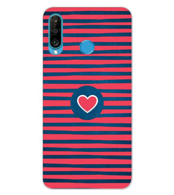 Trendy Heart Back Cover for Huawei P30 lite