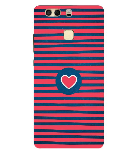 Trendy Heart Back Cover for Huawei P9