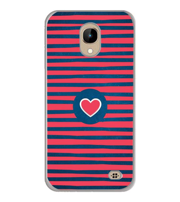 Trendy Heart Back Cover for InFocus A2