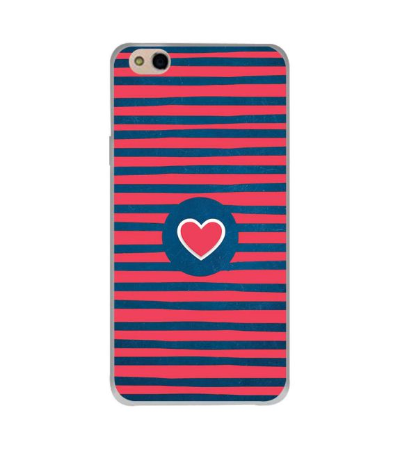Trendy Heart Back Cover for InFocus Bingo 50 Plus