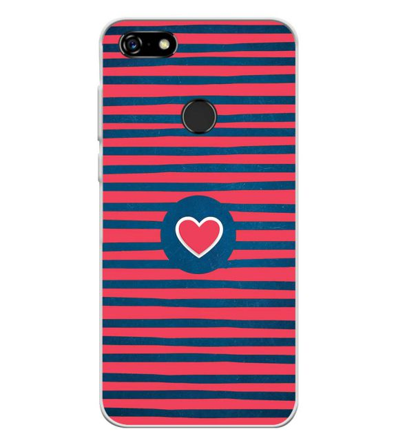 Trendy Heart Back Cover for Lenovo A5