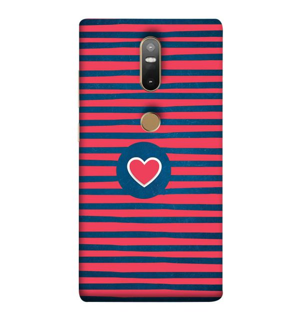 Trendy Heart Back Cover for Lenovo Phab 2 Plus