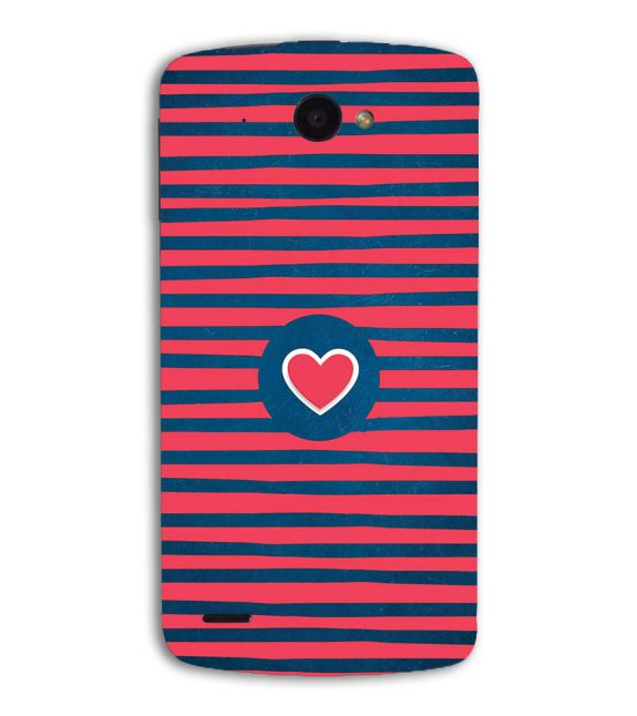 Trendy Heart Back Cover for Lenovo S920