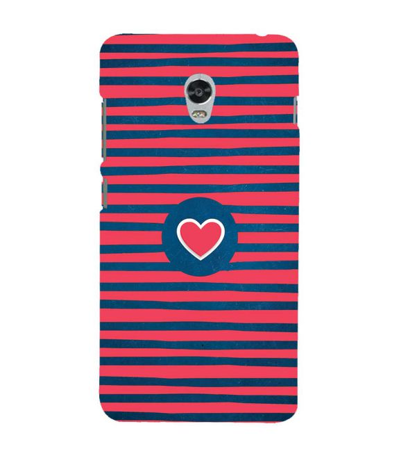 Trendy Heart Back Cover for Lenovo Vibe P1
