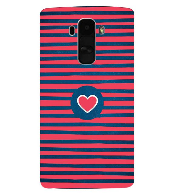 Trendy Heart Back Cover for LG G4 Stylus