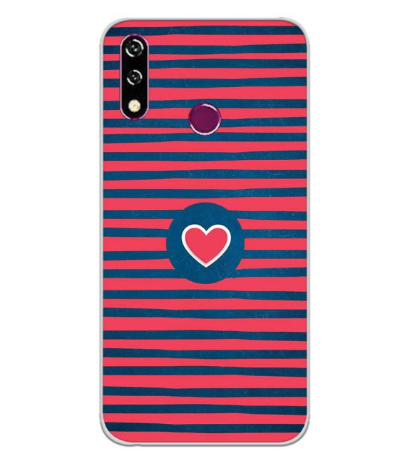 Trendy Heart Back Cover for LG W10