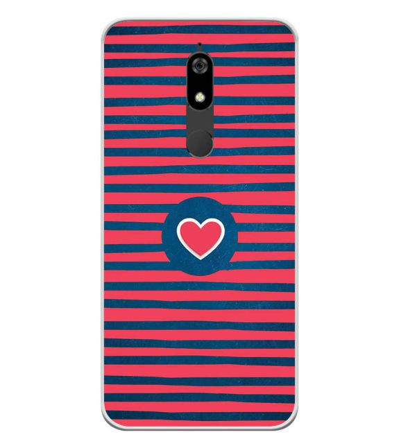 Trendy Heart Back Cover for Micromax Canvas Infinity Pro