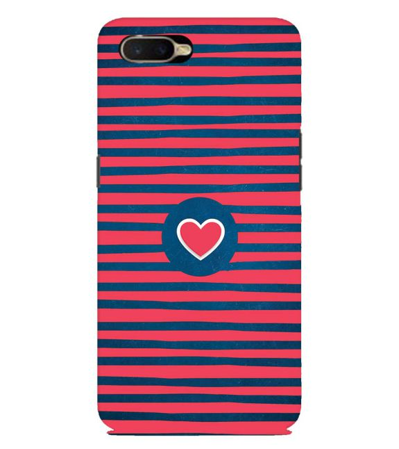 Trendy Heart Back Cover for Oppo K1