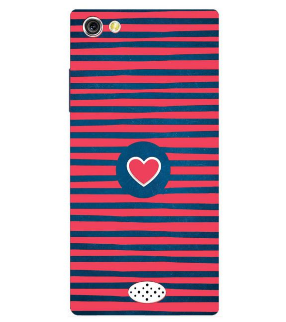 Trendy Heart Back Cover for Oppo Neo 5