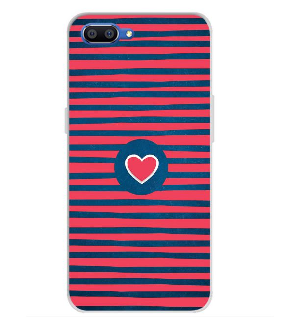 Trendy Heart Back Cover for Realme C1 (2019)