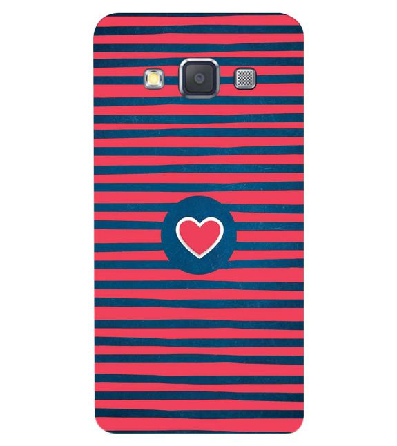 Trendy Heart Back Cover for Samsung Galaxy A3 (2015)