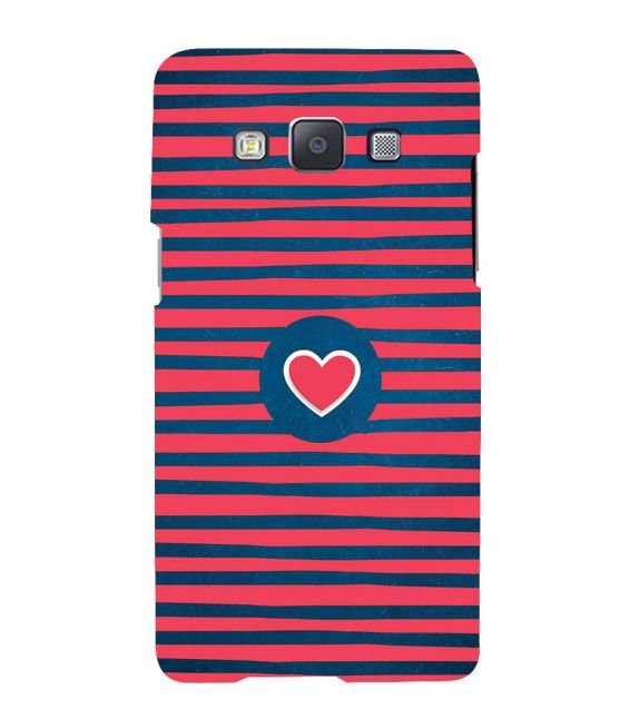 Trendy Heart Back Cover for Samsung Galaxy A7 (2015)