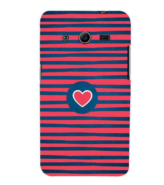 Trendy Heart Back Cover for Samsung Galaxy Core 2 G355H