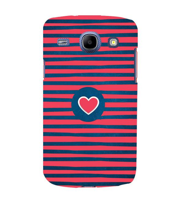 Trendy Heart Back Cover for Samsung Galaxy Core I8260