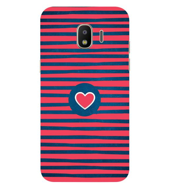 Trendy Heart Back Cover for Samsung Galaxy J2 (2018)