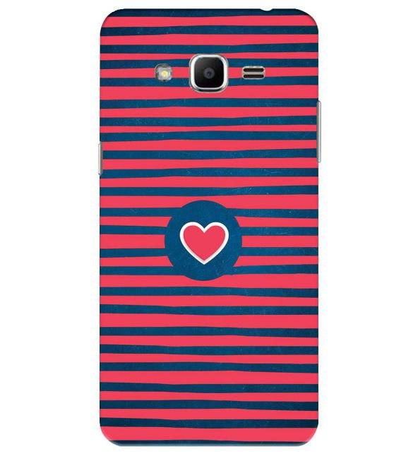 Trendy Heart Back Cover for Samsung Galaxy J2 Ace