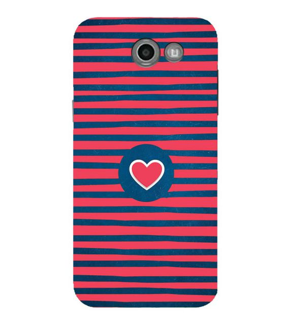 Trendy Heart Back Cover for Samsung Galaxy J5 (2017)