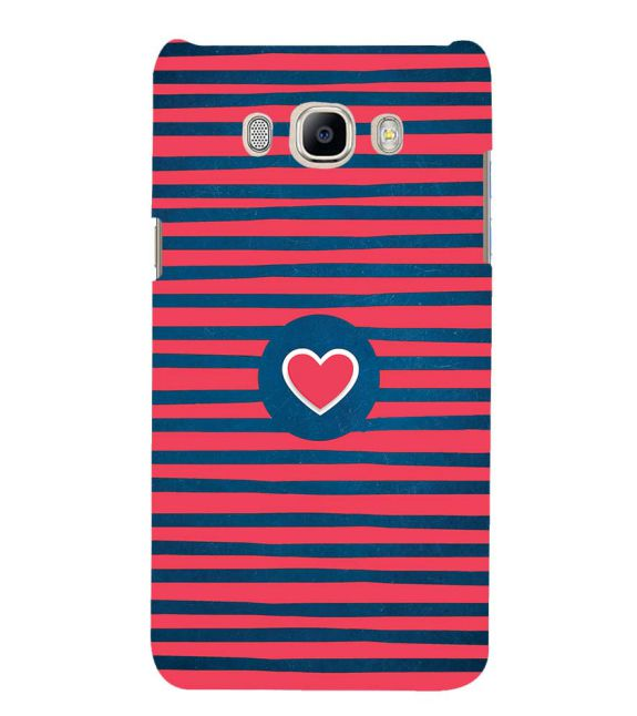 Trendy Heart Back Cover for Samsung Galaxy J7 (6) 2016 : Galaxy On 8