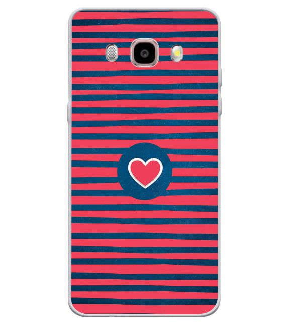 brand new 19c3e 35d67 Trendy Heart Back Cover for Samsung Galaxy J7 (6) 2016 : Galaxy On 8