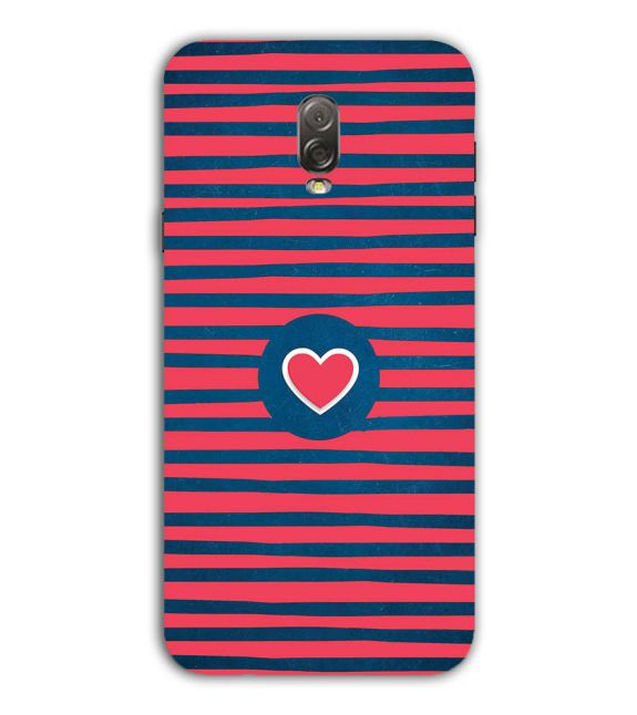 Trendy Heart Back Cover for Samsung Galaxy J7 Plus