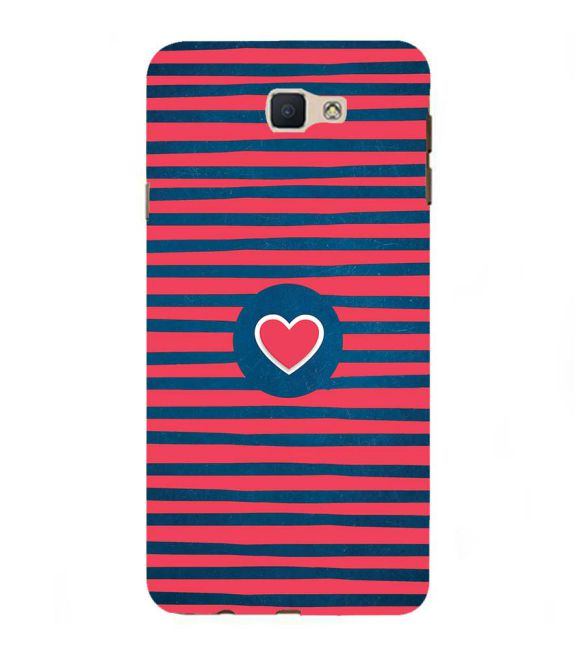 Trendy Heart Back Cover for Samsung Galaxy J7 Prime (2016)
