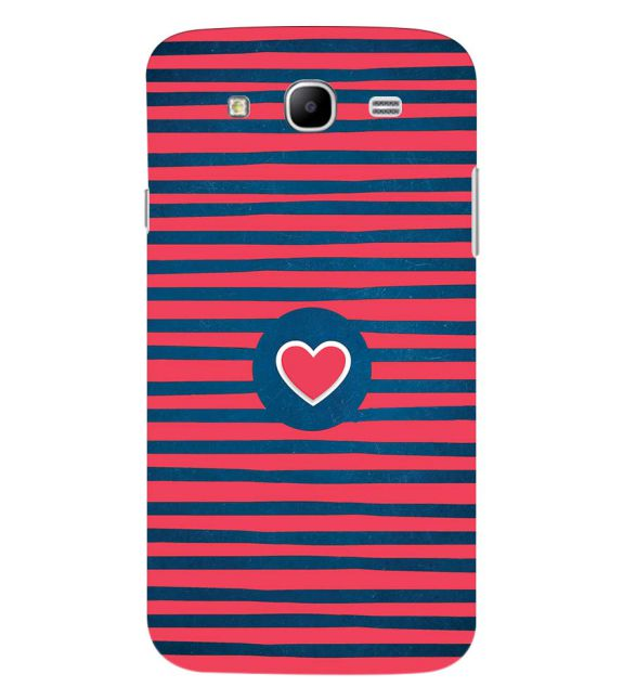 Trendy Heart Back Cover for Samsung Galaxy Mega 5.8 I9150