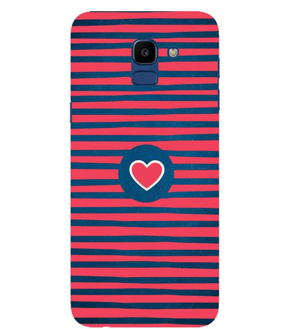Trendy Heart Back Cover for Samsung Galaxy On6