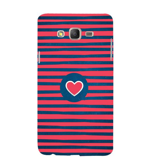 Trendy Heart Back Cover for Samsung Galaxy On7 and On 7 Pro